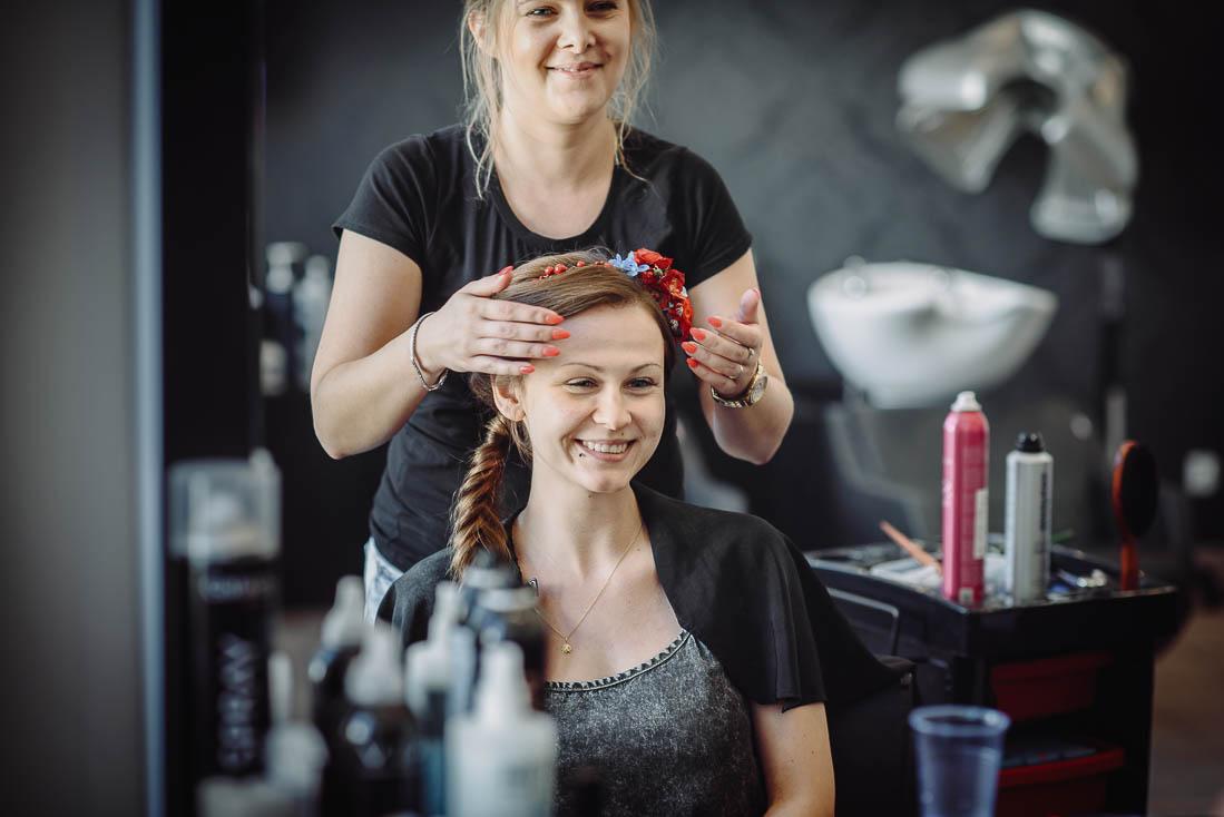 przygotowania ślubne fryzjer Puławy