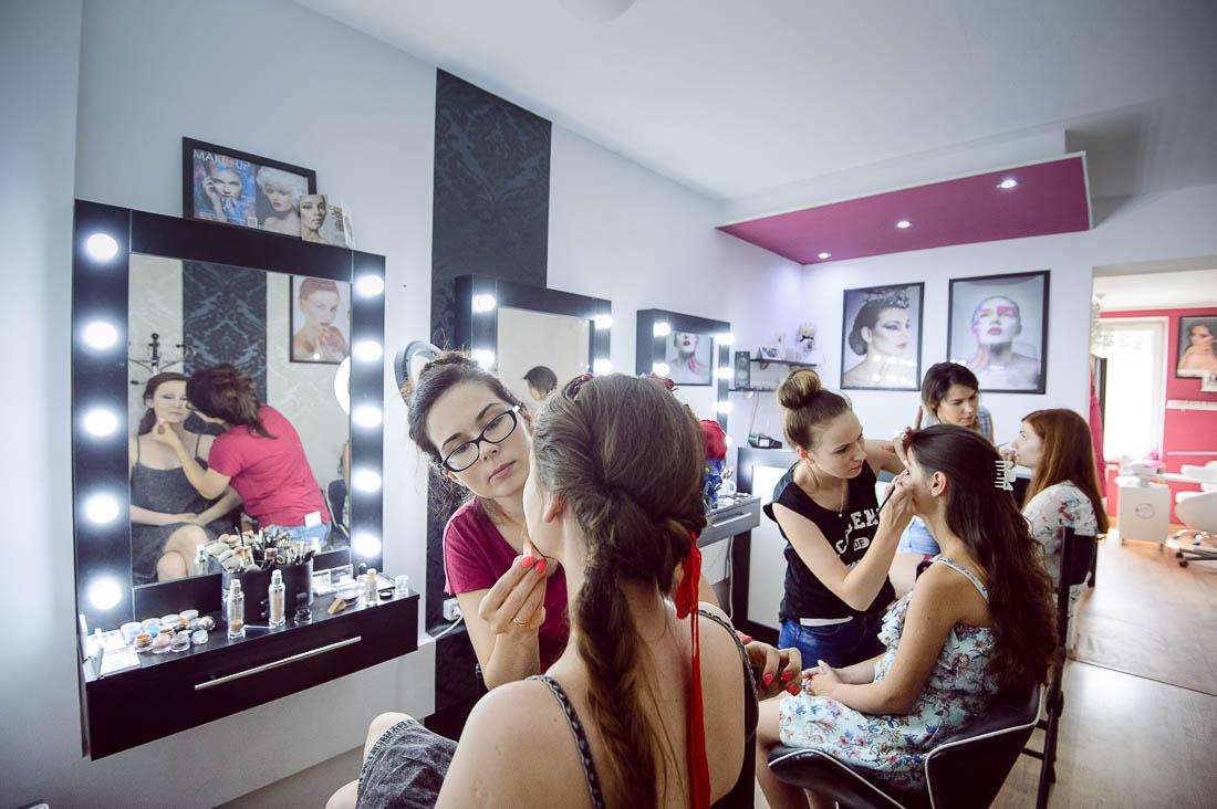 Joanna Solar makeup