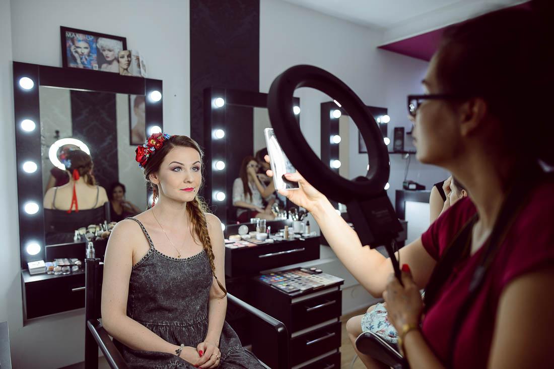 zdjęcia z makeup Puławy