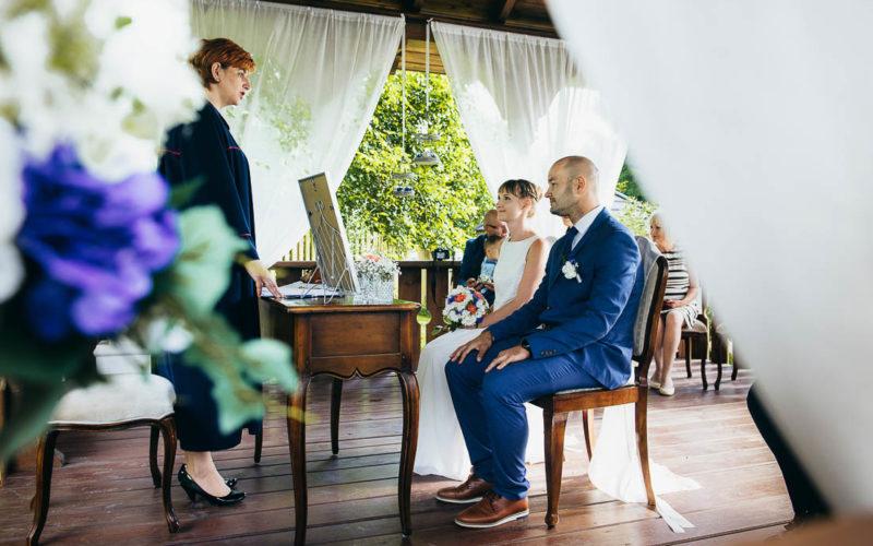 Ślub w plenerze Julity i Janka