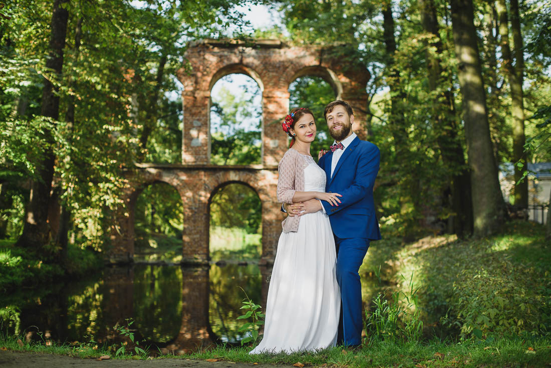 sesją ślubna w Puławach