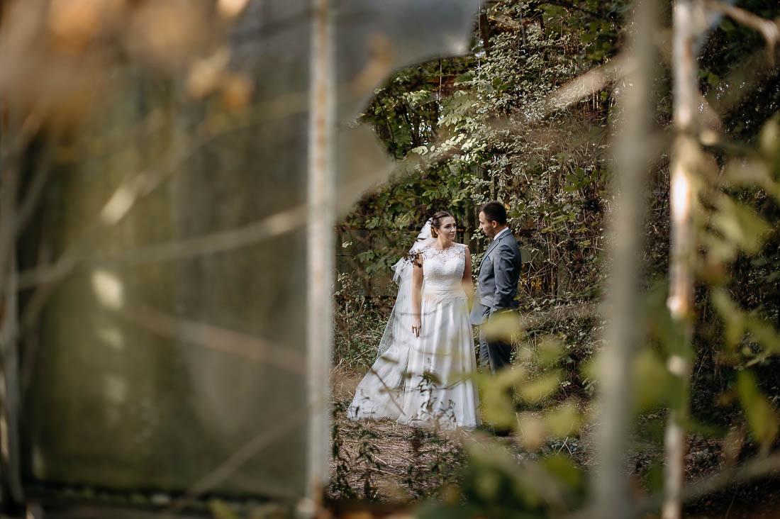 sesja ślubna opuszczona