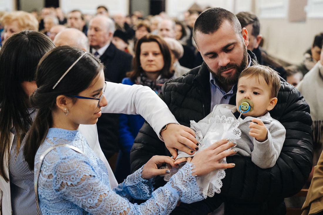 fotoreportaż z chrztu Puławy