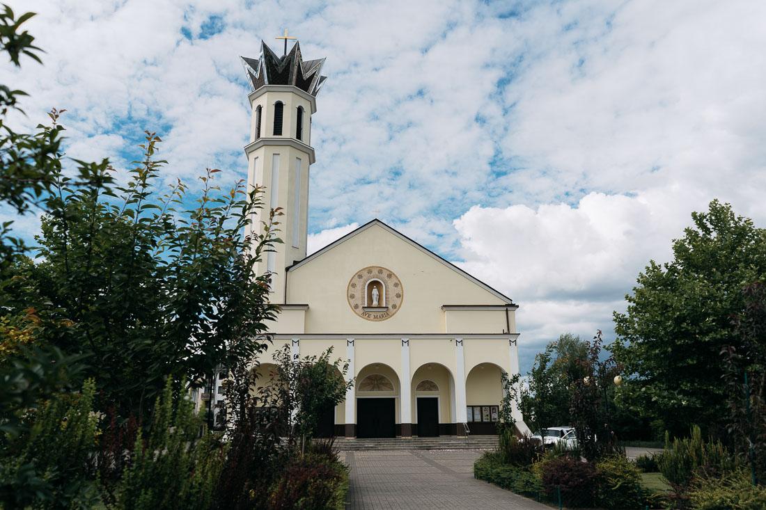 kościół Matki Bożej Różańcowej Piaseczno