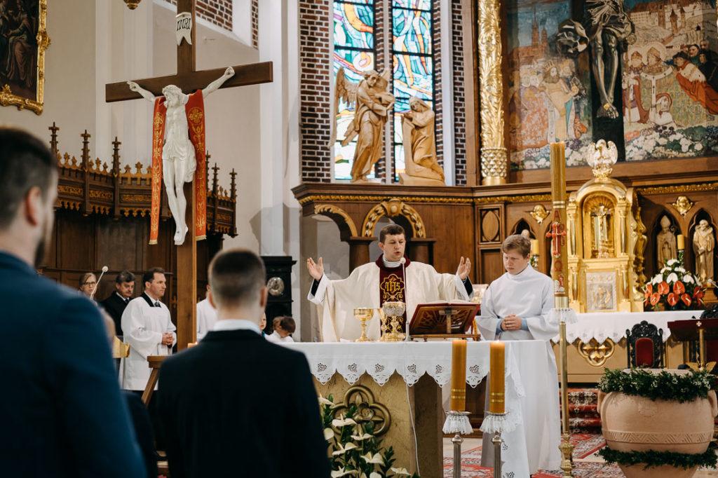 fotoreportaż z chrztu świętego Puławy